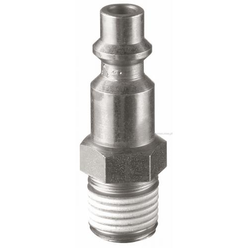 N.633 - THREADED MALE 1/4 CONNECTOR