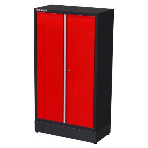 JLS2-A1000PP - szafa wysoka Jetline - 2 drzwi pełnych, 3 półki