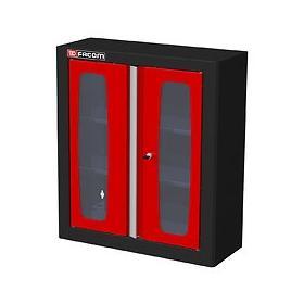 MHSPV - szafka wysoka Jetline - pojedyncza z drzwiami przeszklonymi