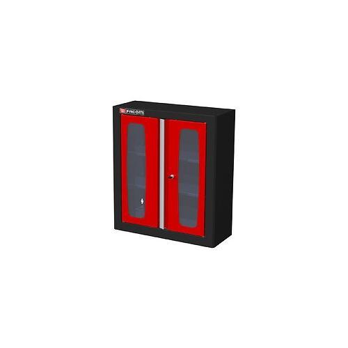 JLS2-MHSPV - szafka wysoka Jetline - pojedyncza z drzwiami przeszklonymi