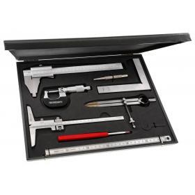 809.J2 - zestaw narzędzi pomiarowo - kontrolnych, 8 narzędzi