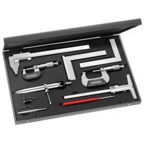 809.J3 - zestaw narzędzi pomiarowo - kontrolnych, 10 narzędzi