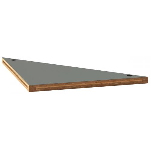 JLS2-PBAST - JLS WOOD TOP STAINLESS ANGLE