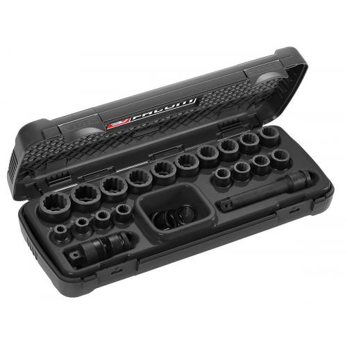 NSD.500 - 12 POINT 1/2 IMPACT SOCKET SET