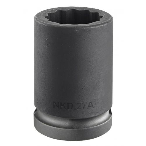 "NKD.22A - nasadka 3/4"" 12-kątna, udarowa, 22 mm"
