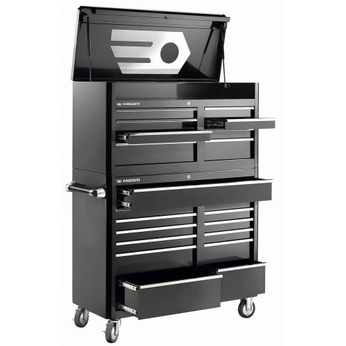 FAS.21BK - FAS FULL SET 21 DRAWERS BK
