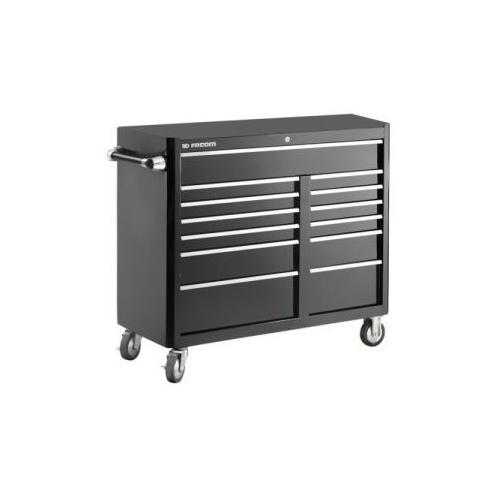 FAS.13BK - wózek narzędziowy czarny, 13 szuflad