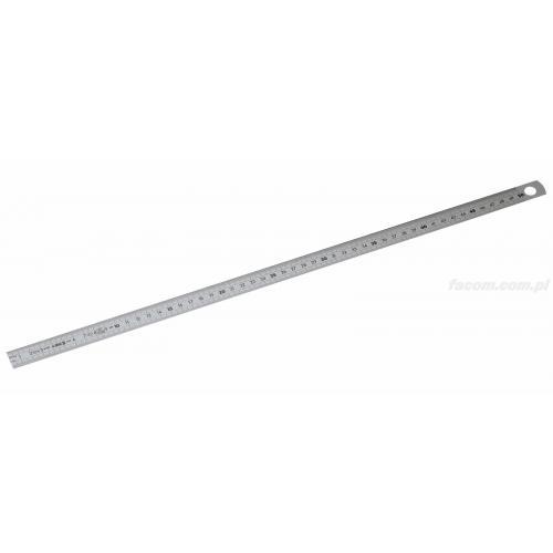 DELA.1021.1500 - Linijka giętka ze stali nierdzewnej - 1 stronna, 1500 mm