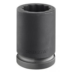 "NKD.27A - nasadka 3/4"" 12-kątna, udarowa, 27 mm"