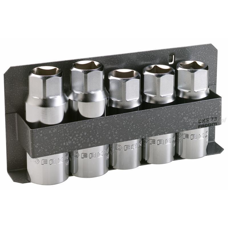 287B.JS5 - zestaw narzędzi do demontażu szpilek, model z rolkami