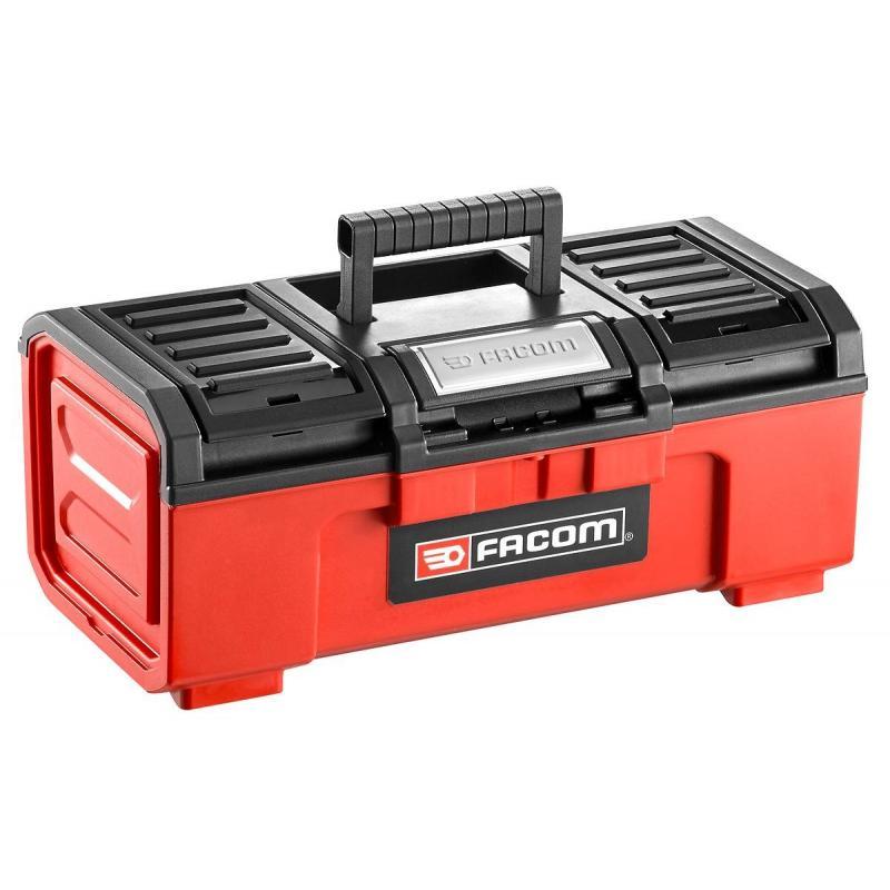 "BP.C16N - plastic toolbox model 16"" self-closing"