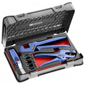 819810 - electrician's set - mobile crimping tool