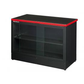 JLS2-DESKV - Counter furniture unit with showcase