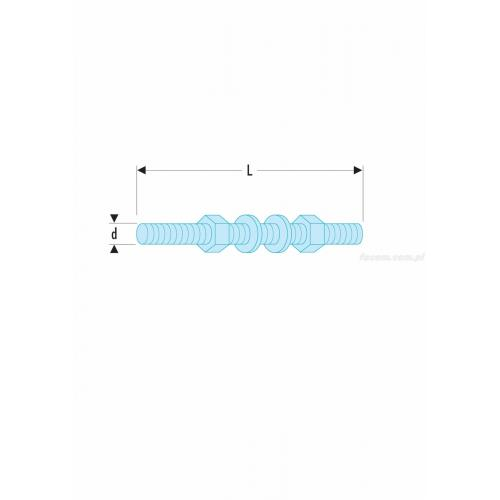 U.23K1A-03 - 2 EXTENSION M8 FOR U.23K1A