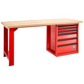 2000.ROLL6M3W - stół roll z drewnianym blatem