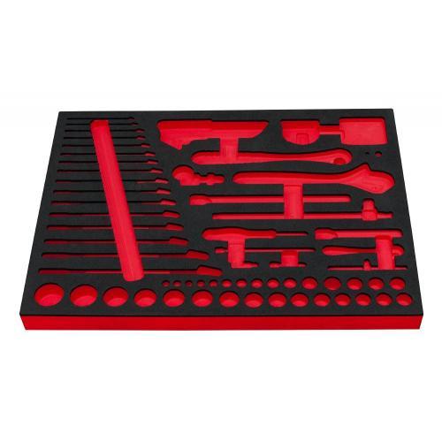 IM.IMZR.P1 - Wytłoczka piankowa na zestaw narzędzi - klucze i nasadki