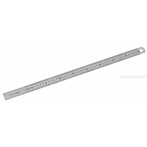 DELA.1061.300 - liniał 2 stronny, 300 mm