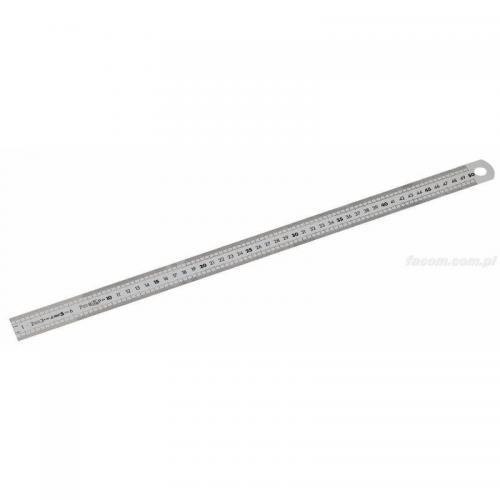 DELA.1061.500 - liniał 2 stronny, 500 mm