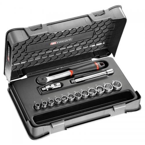 J.161-1P12U - 3/8' SOCKET SET