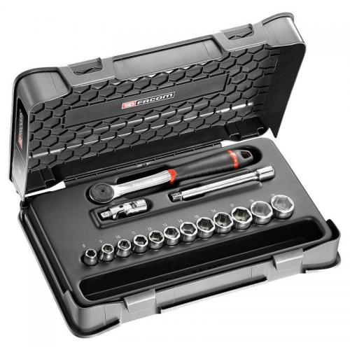 J.161-1P6 - 3/8 socket set