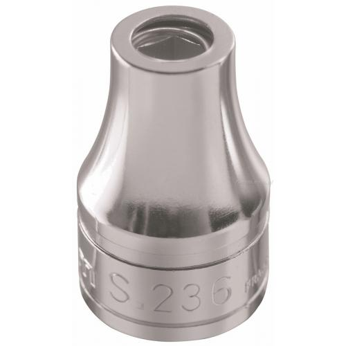 """S.237 - nasadka 1/2"""" z uchwytem do końcówek i pierścieniem sprężynującym, do końcówek 1/2"""""""