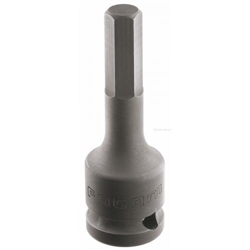 """NSHM.8 - nasadka 1/2"""" do śrub 6-kątnych, udarowa, 8 mm"""