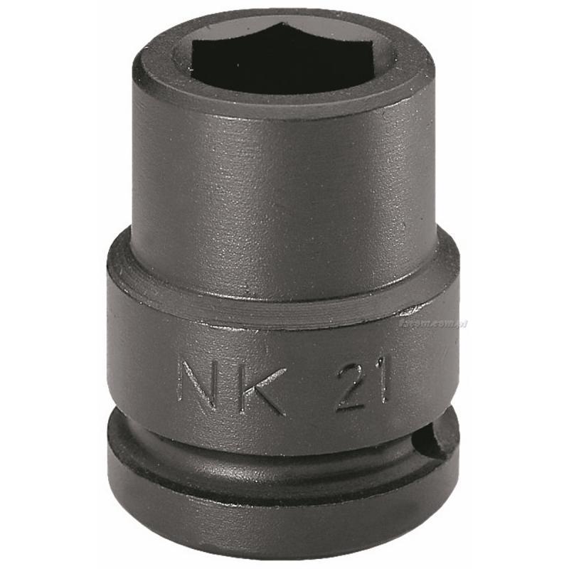 "NM.34A - nasadka 1"" 6-kątna, udarowa, 34 mm"