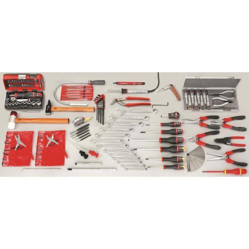 CM.BUR1 - zestaw 113 narzędzi serwisowych dla elektromechanika
