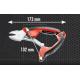 192T.18UPE - Szczypce tnące boczne, ergonomiczne, ultra mocne, 180 mm