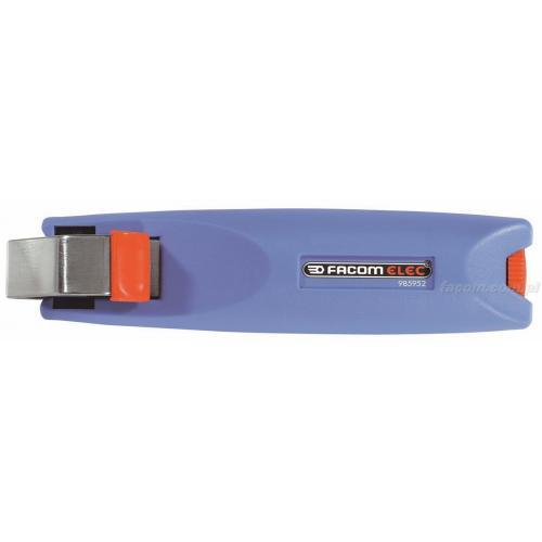 985953 - narzędzie do ściągania izolacji z ostrzem obrotowym, zakres do 35 mm