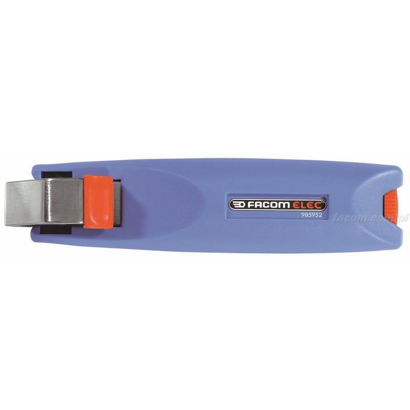 985954 - narzędzie do ściągania izolacji z ostrzem obrotowym, zakres do 50 mm