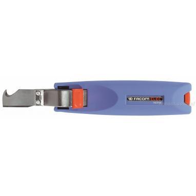 985956 - narzędzie do ściągania izolacji z ostrzem obrotowym zagiętym, zakres do 28 mm