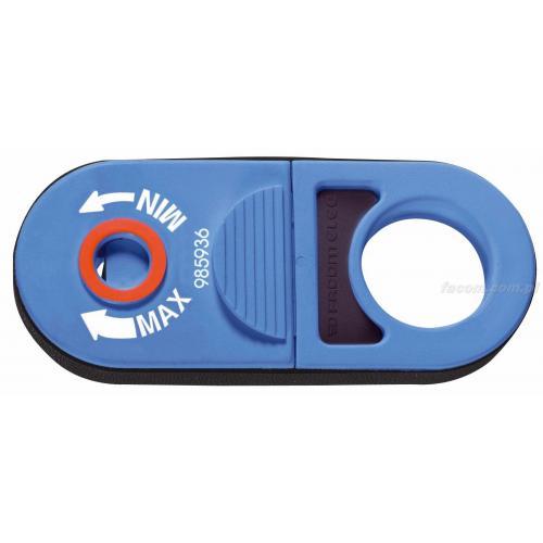985936 - narzędzie do ściągania izolacji z kabli koncentrycznych i wielożyłowych, zakres 11 mm