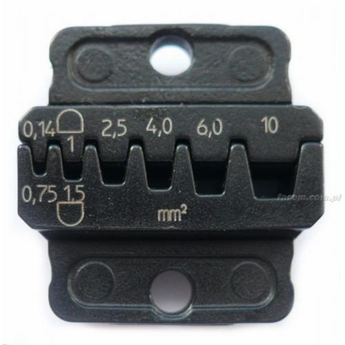 821440 - matryca do końcówek kabli, zakres 0,14 - 10,0 mm²