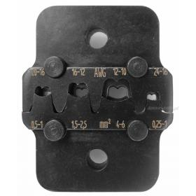 821458 - matryca do końcówek otwartych, zakres 0,5 - 6 mm²