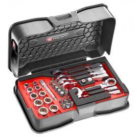 467BS.BOX - Zestaw kluczy grzechotkowych i nasadek, 7 - 14 mm