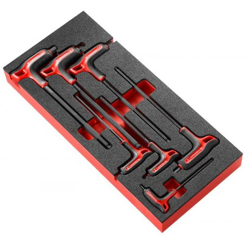 MODM.84TZSA - Tee-shaped keys set in foam tray