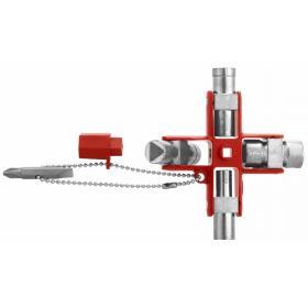 838305 - klucz krzyżakowy do szaf elektrycznych z wieloma końcówkami