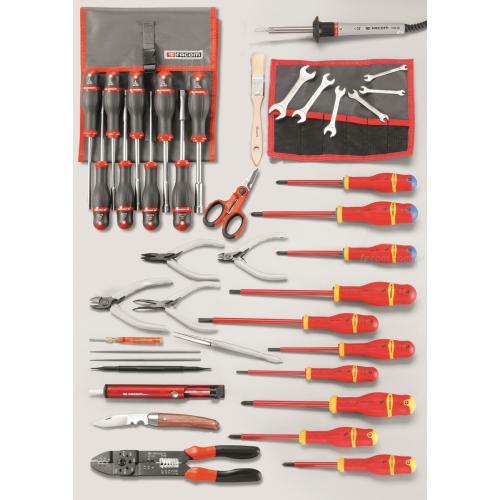 CM.EL30 - zestaw 50 narzędzi do elektroniki