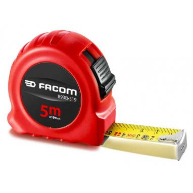 893B.519 - ABS body tape measure 5m x 19mm 2 sides