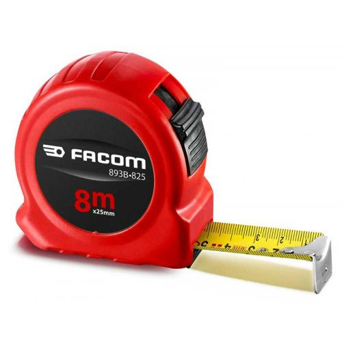 893B.825 - ABS body tape measure 8m x 25mm 2 sides