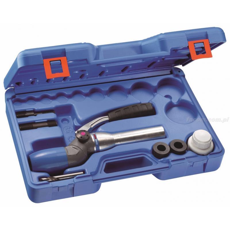 986052 - ręczny przyrząd hydrauliczny 2-pozycyjny do wycinaków z akcesoriami