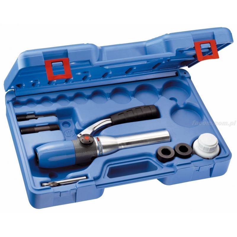 653255 - przyrząd hydrauliczny jednopozycyjny z akcesoriami do wycinaków