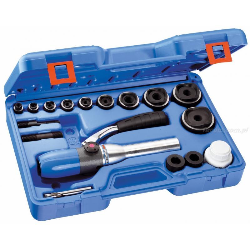 985510 - zestaw z przyrządem hydraulicznym jednopozycyjnym i wycinaki PG, 12,7 - 60 mm