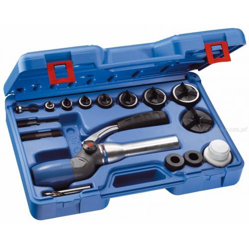658689 - zestaw z przyrządem hydraulicznym 2-pozycyjnym i wycinaki ISO, M12 - M63