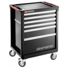 CHRONO.6GM3A - wózek 6 szuflad, czarny
