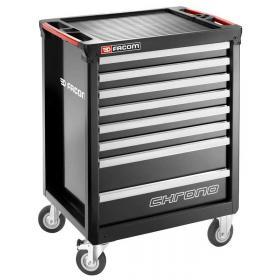 CHRONO.8GM3A - wózek 8 szuflad, czarny