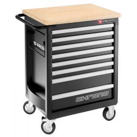 CHRONO.8GM3HD - wózek 8 szuflad - wersja wzmocniona, czarny