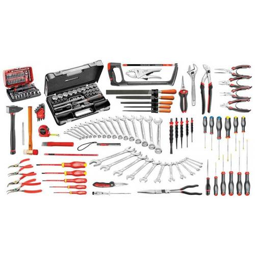 CM.130A - 165-piece industrial maintenance set