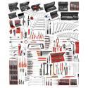CM.160A - zestaw 528 narzędzi do utrzymania ruchu w przemyśle